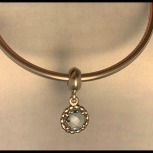 Aquamarine Pandora Charm
